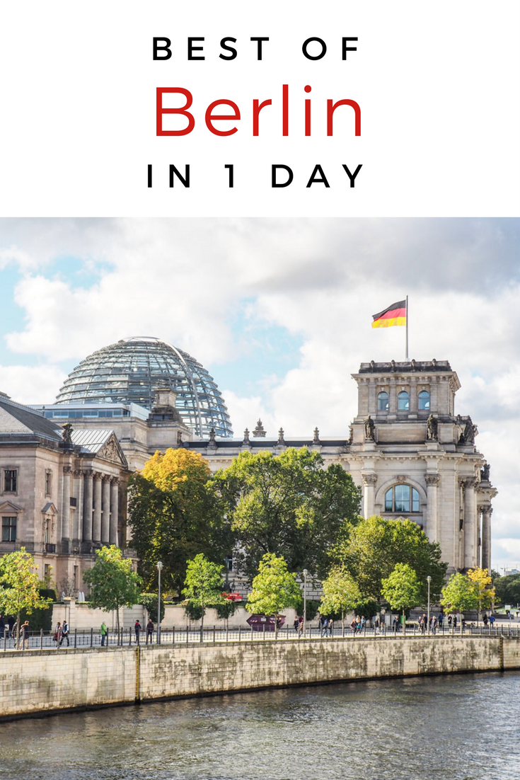 What to do in Berlin in one day. Here's a simple itinerary to help you navigate the city and see all of its most famous attractions, including the Brandenburg Gate, the Reichstag, and Checkpoint Charlie.