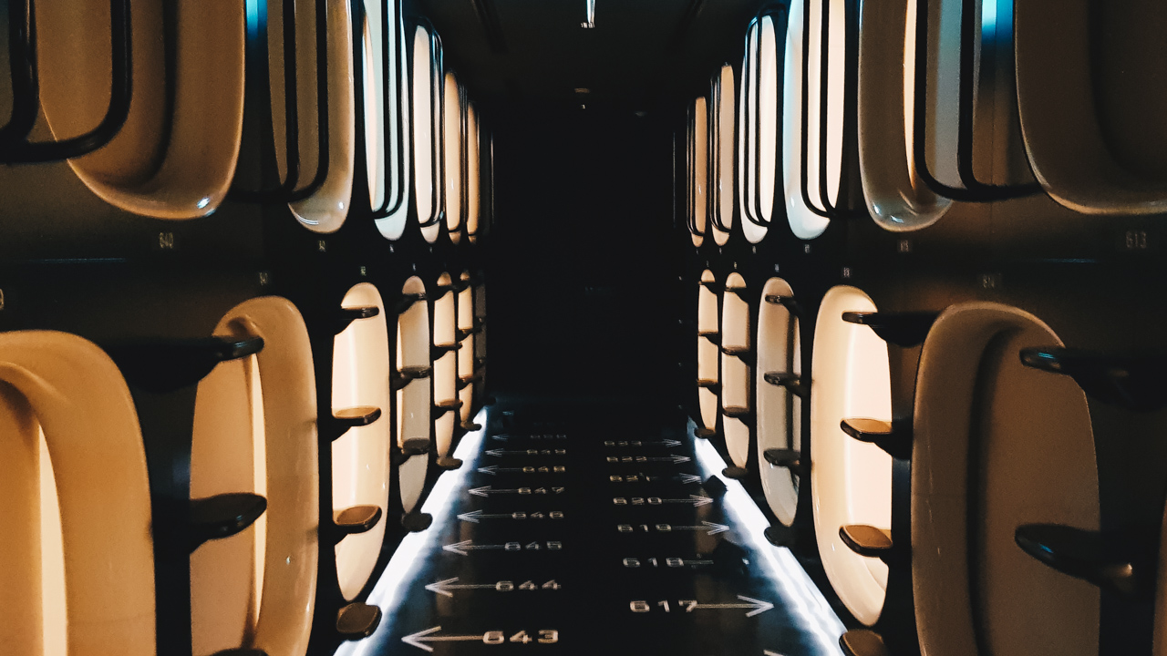 Staying at a Capsule Hotel in Tokyo as a Couple